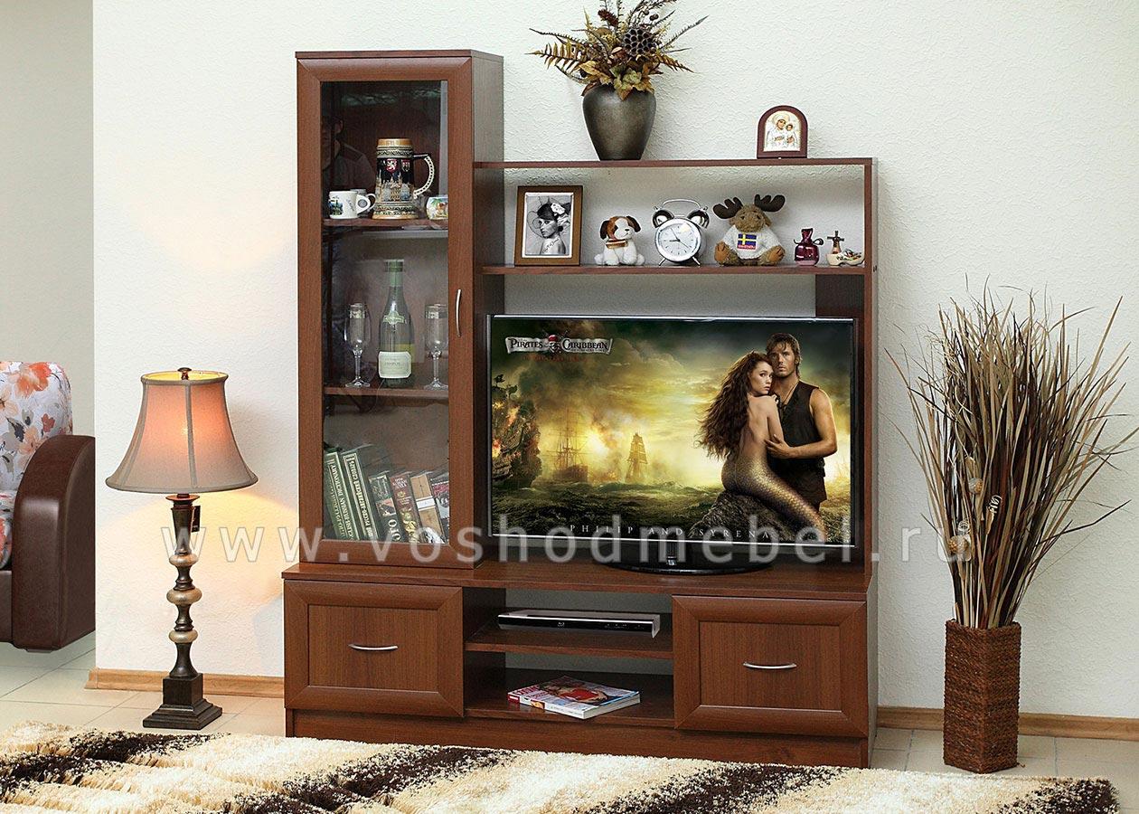 Маленькие стенки для гостиной по цене от 3000 руб