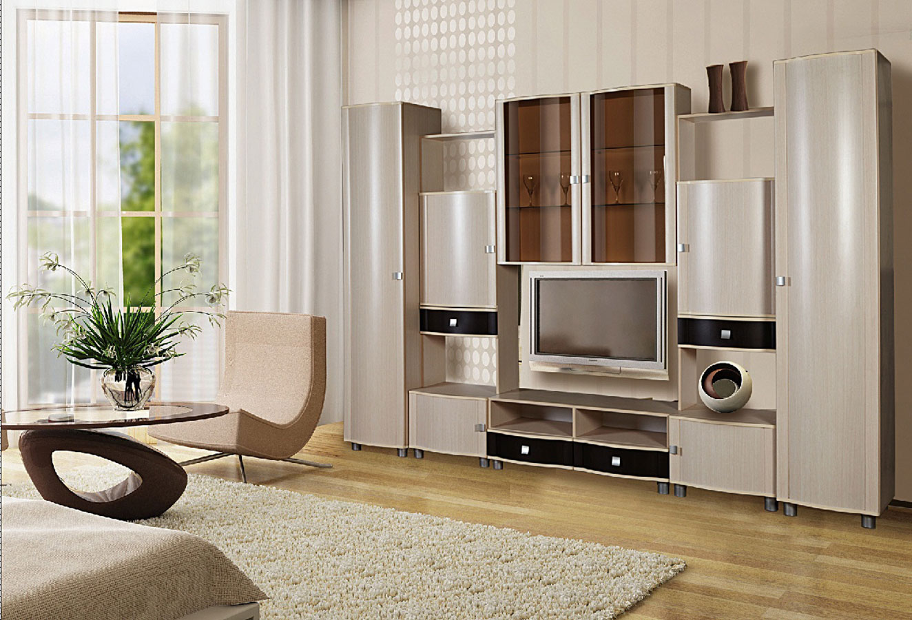 Модульная Мебель Для Гостиной Камелия